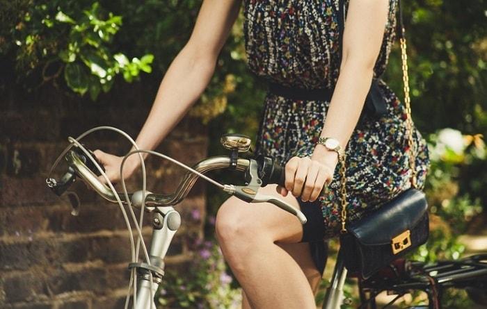 美脚 自転車
